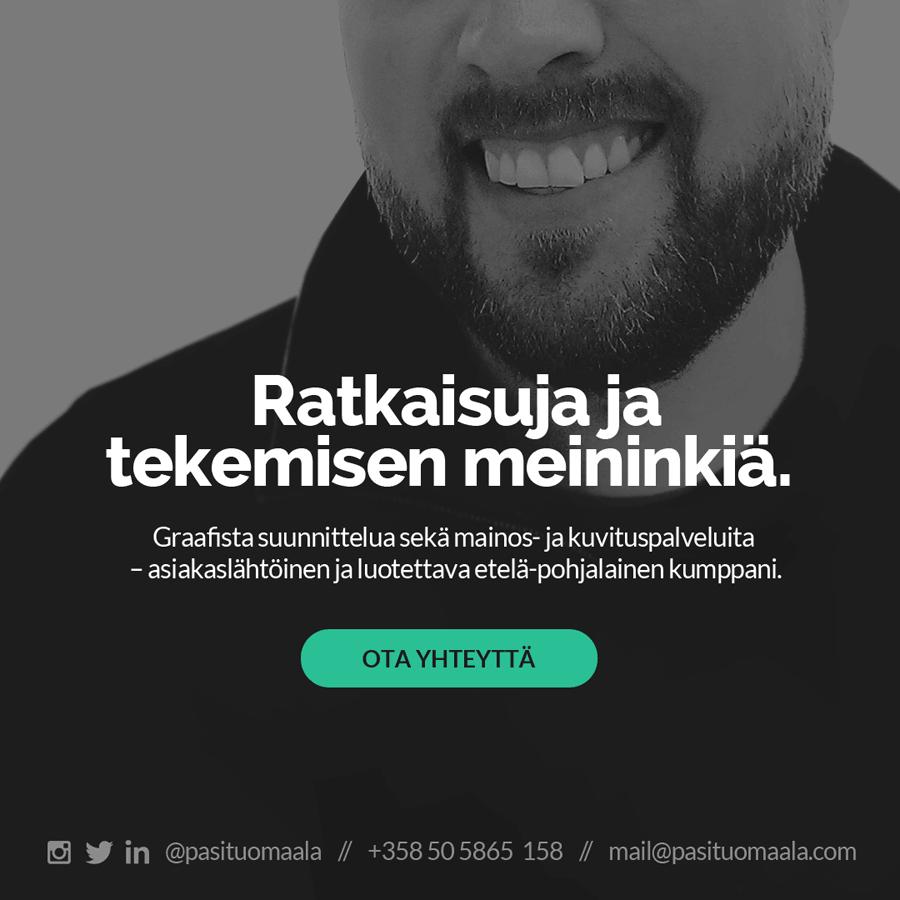 Pasi Tuomaala - graphic designer & Illustrator / graafinen suunnittelija & kuvittaja , Lapua , etelä-pohjanmaa